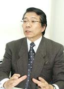 研究科長 高橋誠氏