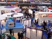 BETT会場には世界から教育IT企業が集まる