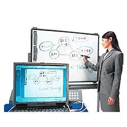 ホワイトボードが電子黒板に! 「mimio Xi」