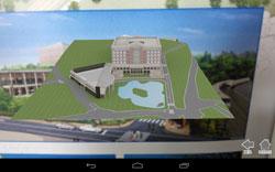 新図書館の完成予想図