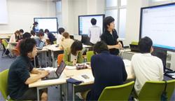 ICT機器を使った授業風景