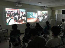 附属小のプログラミング授業を学部生や院生が遠隔で参観
