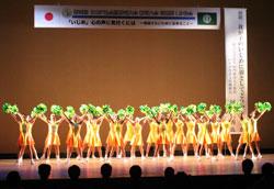 開会式では「しばたパフォーマンスキッズ」によるダンスパフォーマンスが披露された