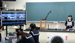 速さの違う物体の動きを単位時間あたりで比べ、気づきを発表する