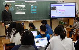 6年理科「電気の利用」でタブレットPC「MousePro-P120A-EDU」とmicro:bitを活用