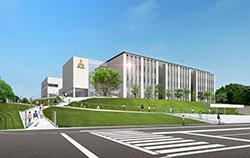 農学部開設に向けて新たに誕生する8号館(イメージ図)
