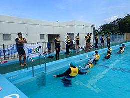 足立区立中川北小学校の教諭21人を対象に実施した昨年度の研修会