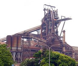 JFEスチール(株)東日本製鉄所(千葉地区)の高炉(溶鉱炉)