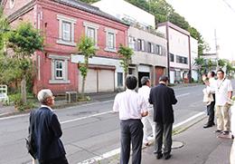 旧札幌通りを歩いて室蘭市の特徴を学ぶ