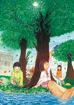 コンクール入賞作品は「環境白書」の表紙などを飾る