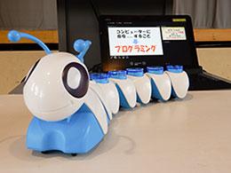 イモムシ型ロボット「コード・A・ピラー ツイスト」でプログラミング