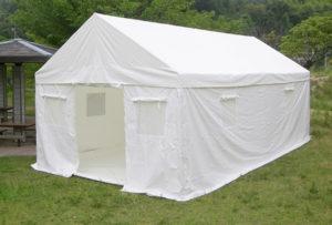 3密を避けられる災害テントは2サイズから選べる