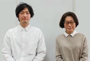 大山主任教諭(左)と土屋学校司書